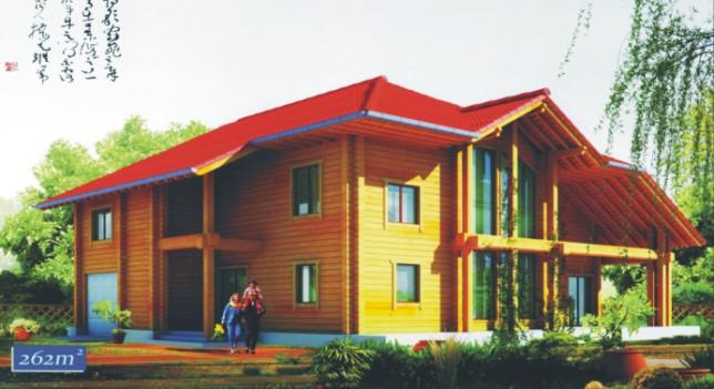 轻型木结构/原木结构_典型案例