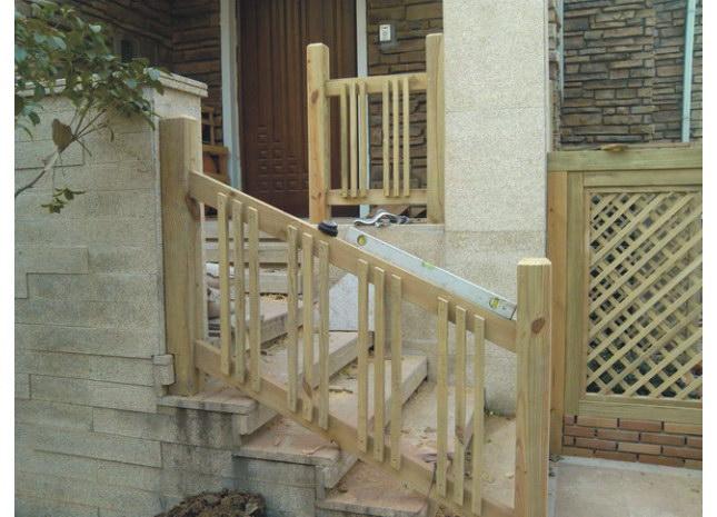 景观木结构  包括庭院入口