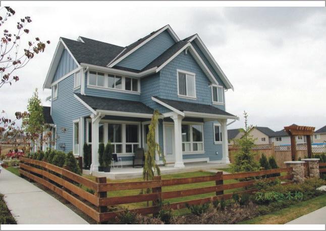 100-300平方北美轻型木结构