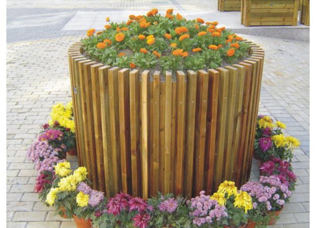 首页 汉威产品 景观木结构 花盆