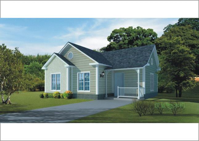 100-200平方木结构别墅房型