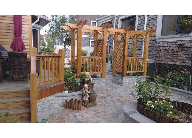 香树湾各庭院景观-苏州汉威木结构工程有限公司